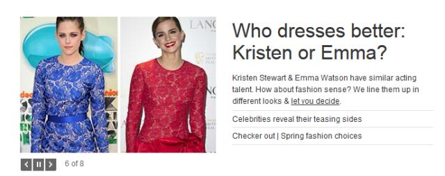 Example of poor MSN Headline