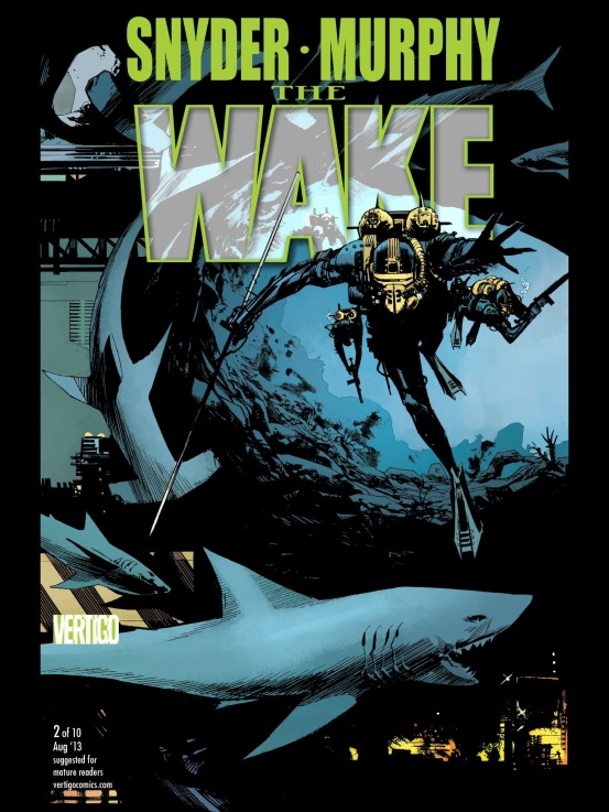 cover of The Wake #2