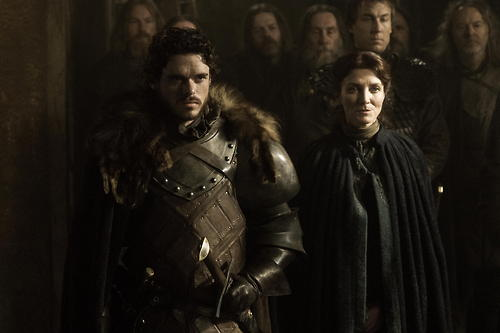 Picture of Robb and Catelyn Stark